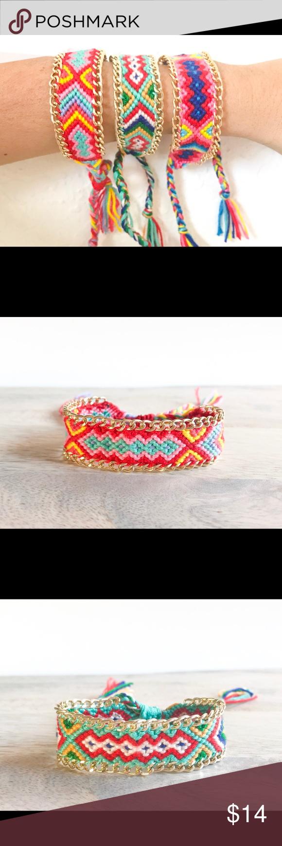 Handmade boho friendship bracelets boutique pinterest friendship