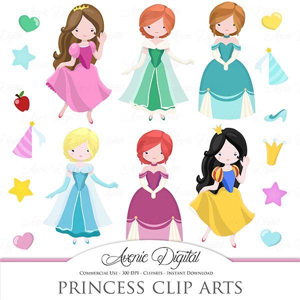 Cute Princess Clipart Mygrafico Princess Birthday