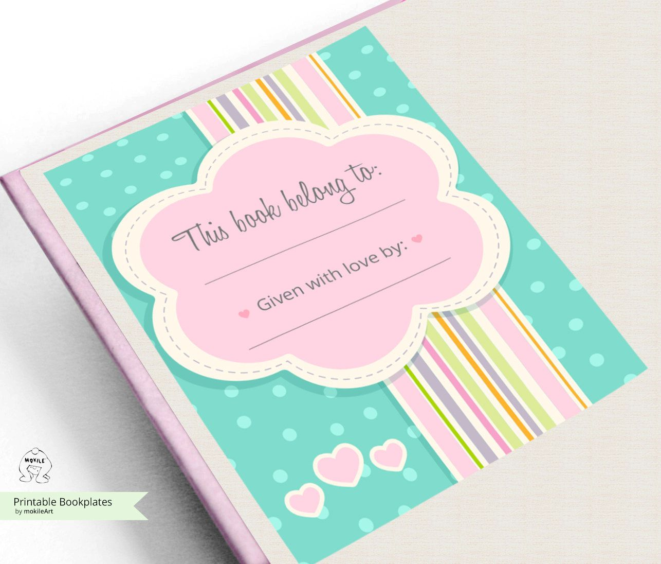 printable bookplates baby shower bookplates book plates instant