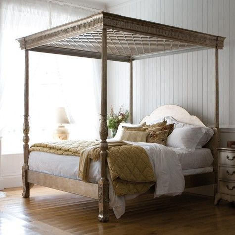Georgian Four Poster Bed Gold Silver Leafed Finish And So To Bed For Not Much More Luxury Wooden Bed Four