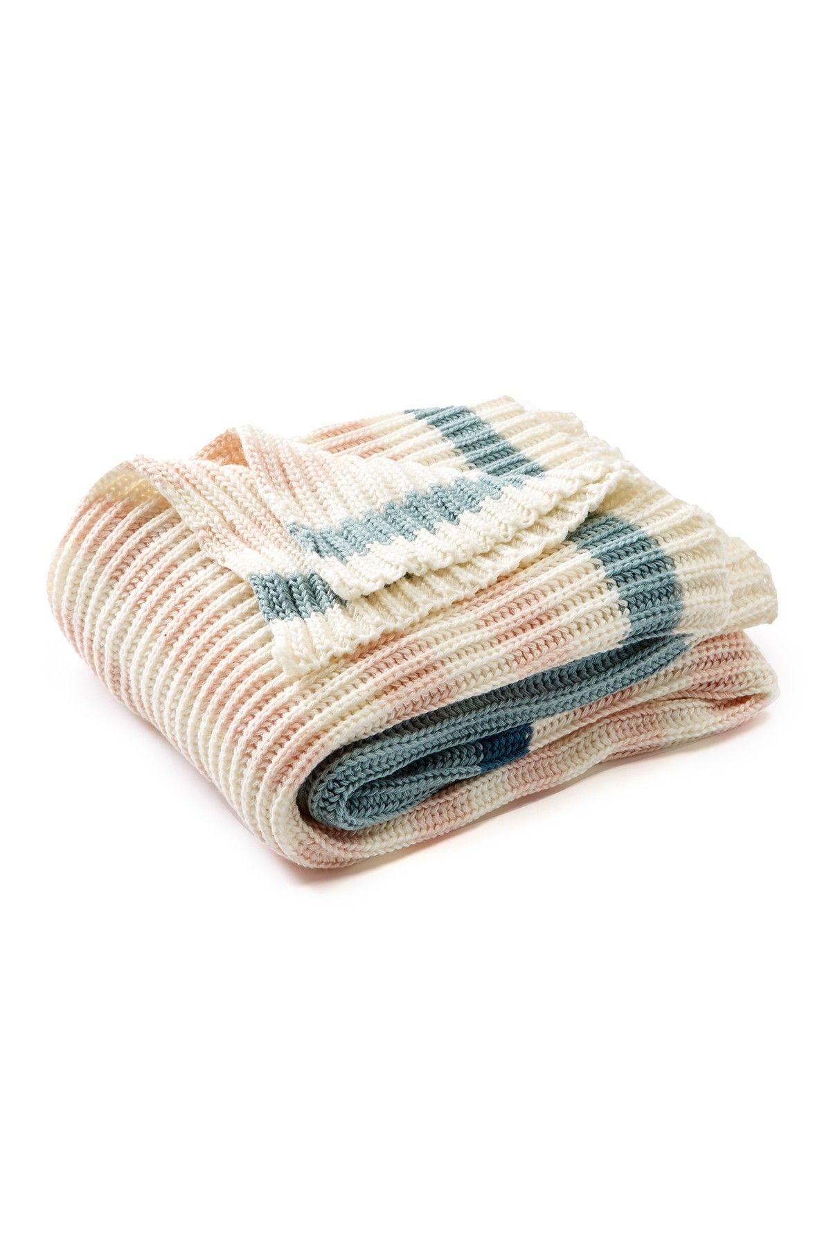 Nordstrom Rack Knit Marled Yarn Throw - 50\\\\ x60\\\\