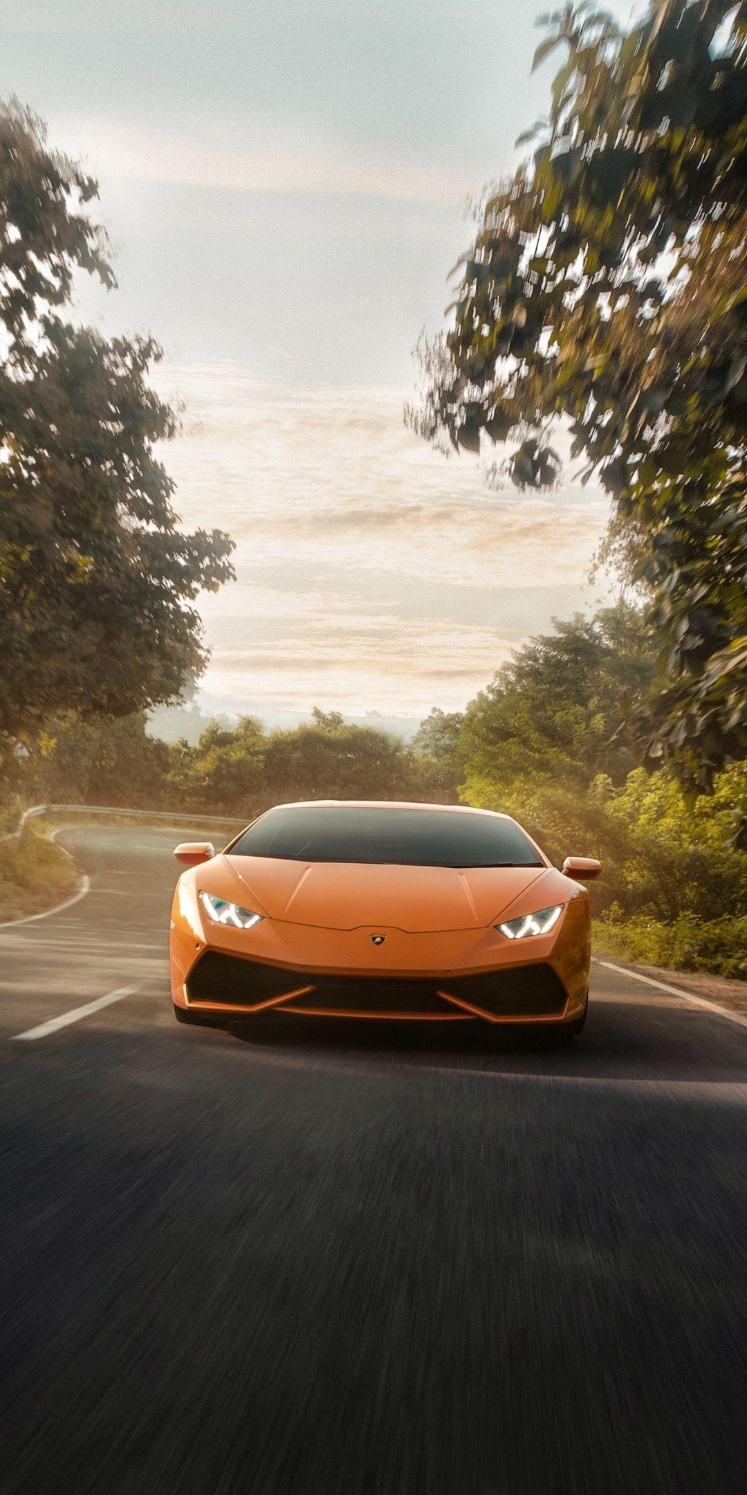 Lamborghini Huracan Orange 2019 Wallpaper Car Wallpapers