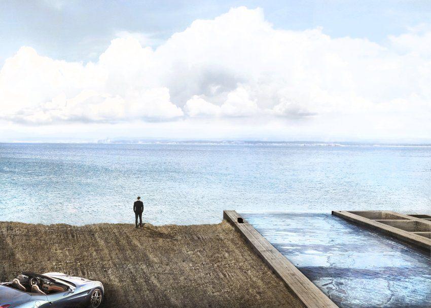 Wanderer Uber Dem Meer Ein Bild Wie Ein Gemalde Von Caspar David Friedrich Haus Am Meer Dschungelhaus Agaisches Meer