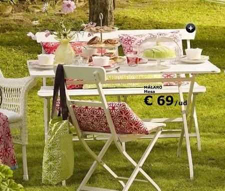 Ikea Malaro outdoor furniture, wonder if they will bring