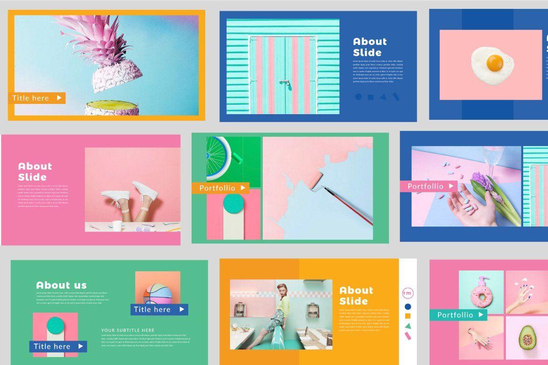 Color Fun Powerpoint Keynote Design Presentation Design Layout Powerpoint Design Templates