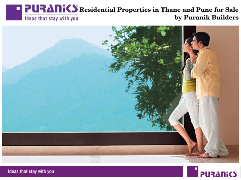 Residential Apartments in Thane and Pune for Sale by