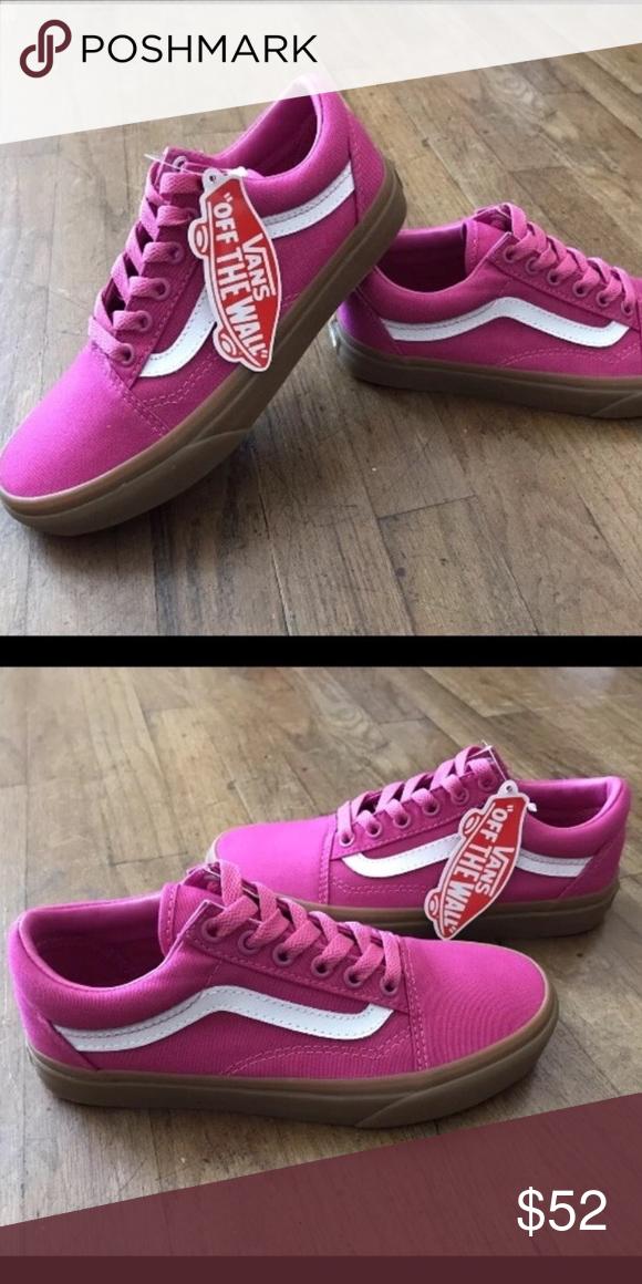 51ff5b89ae02 Vans Old Skool Light Gum Raspberry Pink Sk8 Sz 5.5 Vans Old Skool (Light  Gum) Raspberry Rose Pink- Women s Sk8 Size 5.5 Skate Canvas The Light Gum  Old Skool ...