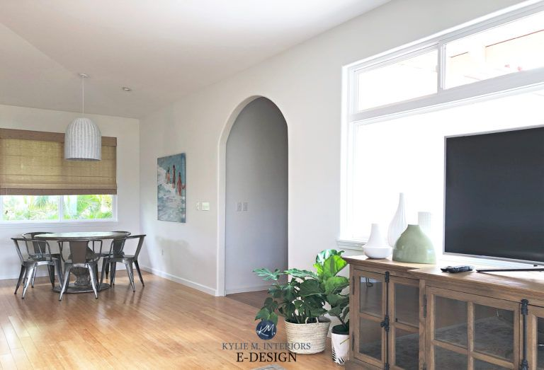 Paint Colour Review: Sherwin Williams Pure White SW 7005 #purewhite