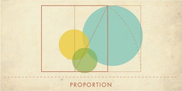 Principles of design 7 proportion the golden ratio for Size and proportion