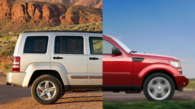 Dodge Nitro And Jeep Liberty To Merge Into One Vehicle