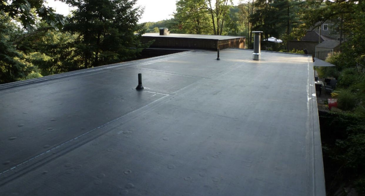 Epdm Roofing Epdm Roofing Leaking Flat Roof Flat Roof