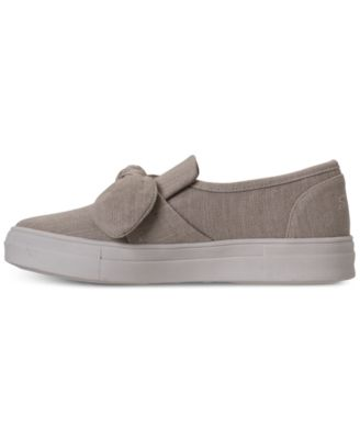 533572a9b438 Skechers Women s Vapor - Bow Time Casual Sneakers from Finish Line -  Tan Beige 9.5