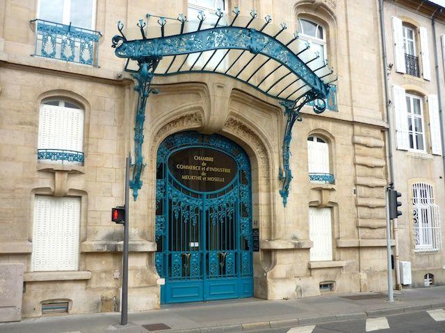 Art Nouveau Buildings In Nancy French Moments Art Nouveau Art Nouveau Architecture Nouveau