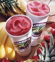 tropical smoothie cafe...yummmmm