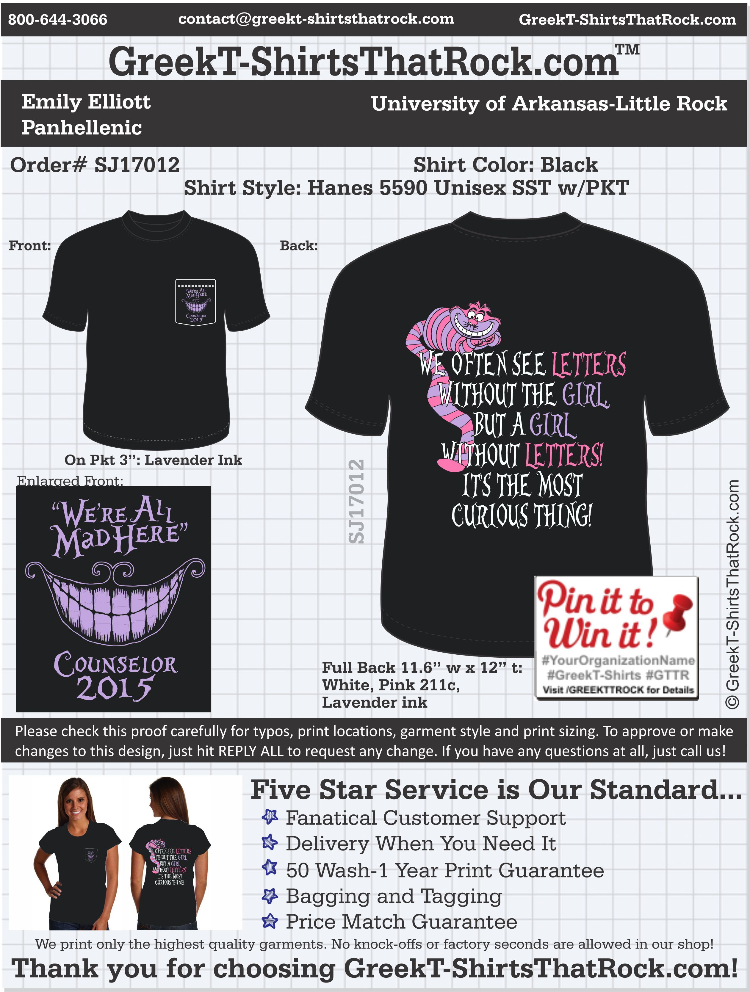 Design t shirt upload picture - Panhellenic T Shirts That Rock Panhel Panhellenic Recruitment Greeklife Customize