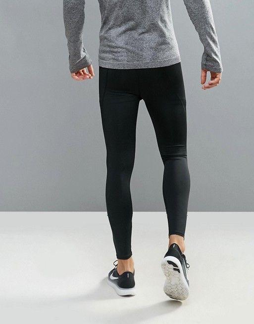 89998e0da51c9 New Look SPORT running tights in black | Grunge fashion | Running ...