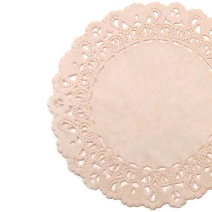 """5/"""" 10/"""" 14/"""" Light BABY PINK Paper Doilies4/"""" 8/"""" 16/"""" Pink Chargers 12/"""" 6/"""""""