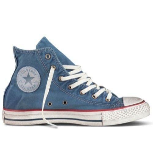 Converse are better WORN, so they did the work for you