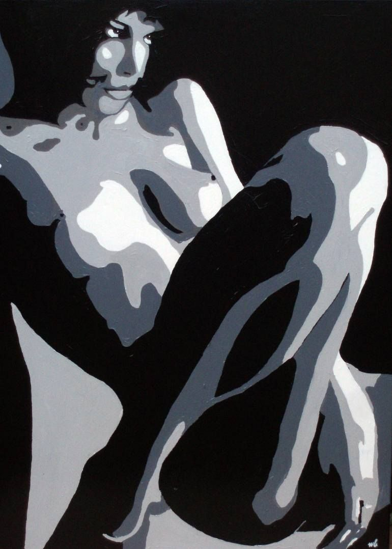 "Saatchi Art Artist Wojtek Bąbski; Painting, ""Act 3"" #art"