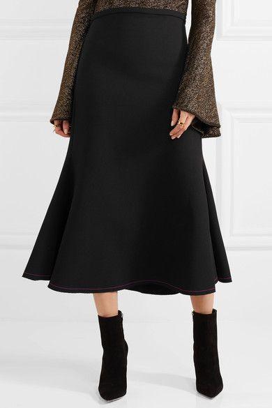 cd9968e2a7d8 4 Fresh Ways to Wear Color | LA MODE | Crepe skirts, Skirts, Fashion