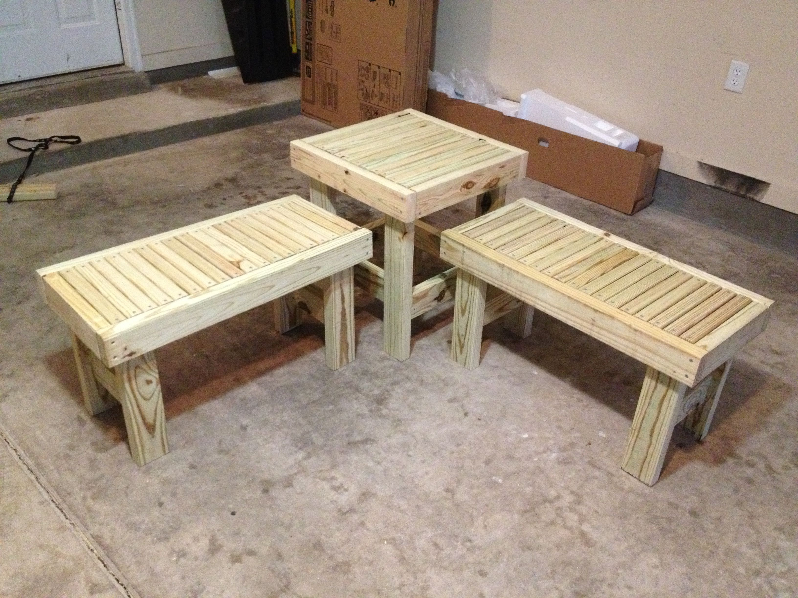 Patio Furniture made easy 2x4 DIY Furniture Designs