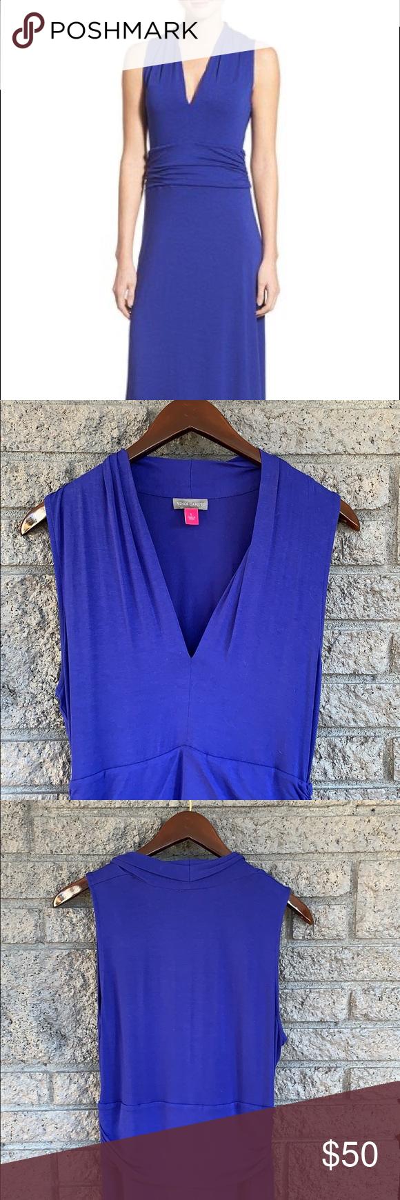 Blue Sleeveless Maxi Dress Vince Camuto Sleeveless Maxi Dress Maxi Jersey Dress Maxi Dress [ 1740 x 580 Pixel ]