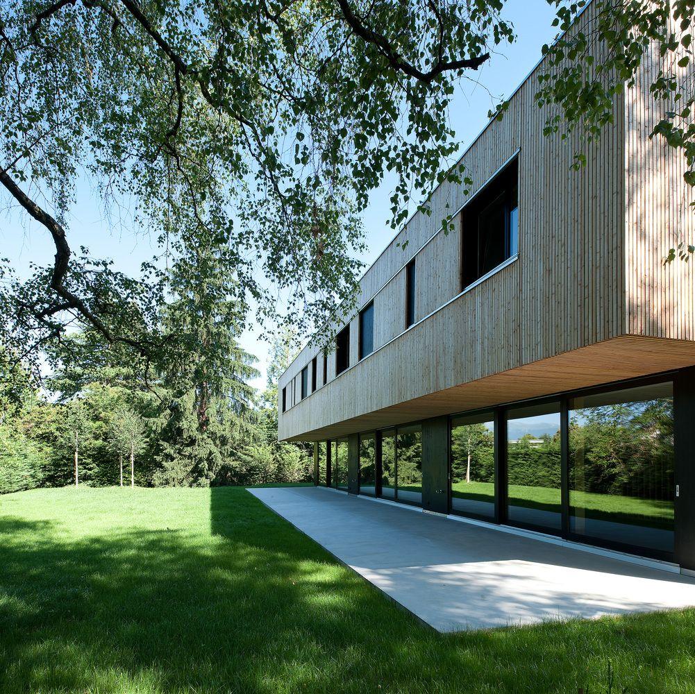 Gallery Of Villas Jonc Christian Von During 1 Fachadas Edificios Edificios Casas