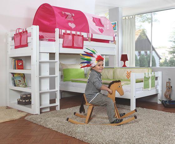 lits superposes d angle 490 h kids bedroom bunk beds. Black Bedroom Furniture Sets. Home Design Ideas