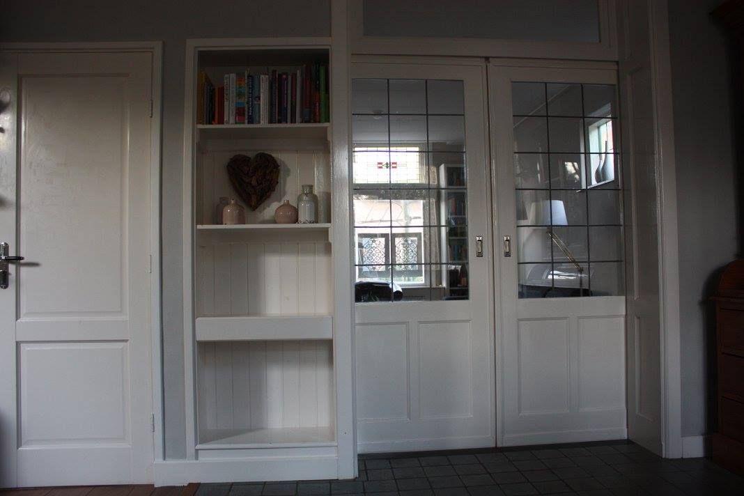 Kast Met Opbergbakken : En suite deuren met kast kleine klusserij