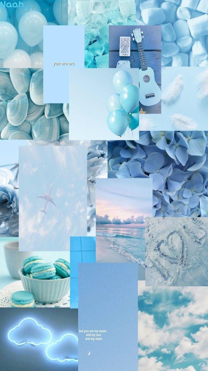 Gambar Aesthetic Warna Biru Pastel Gambar Ngetrend Dan Viral