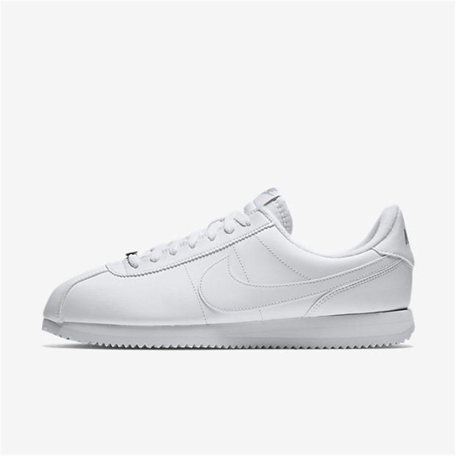 Nike Cortez Basic Leather (White / Wolf Grey / Metallic Silver / White) ·  Cheap Converse ShoesAdidas MenNike ...