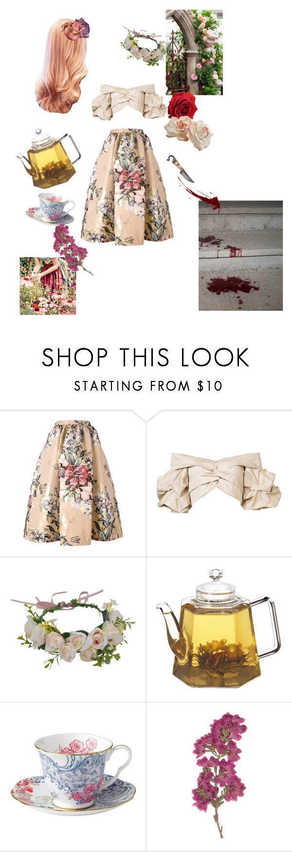 """""""Untitled #133"""" by del-the-grim ❤ liked on Polyvore featuring Fendi, Johanna Ortiz, Betteridge and Wedgwood"""