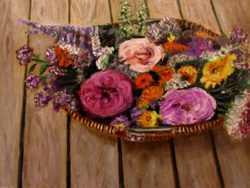 UMS-Arts: Course Work: Dijana's Flower Basket - Dijanas Blum...