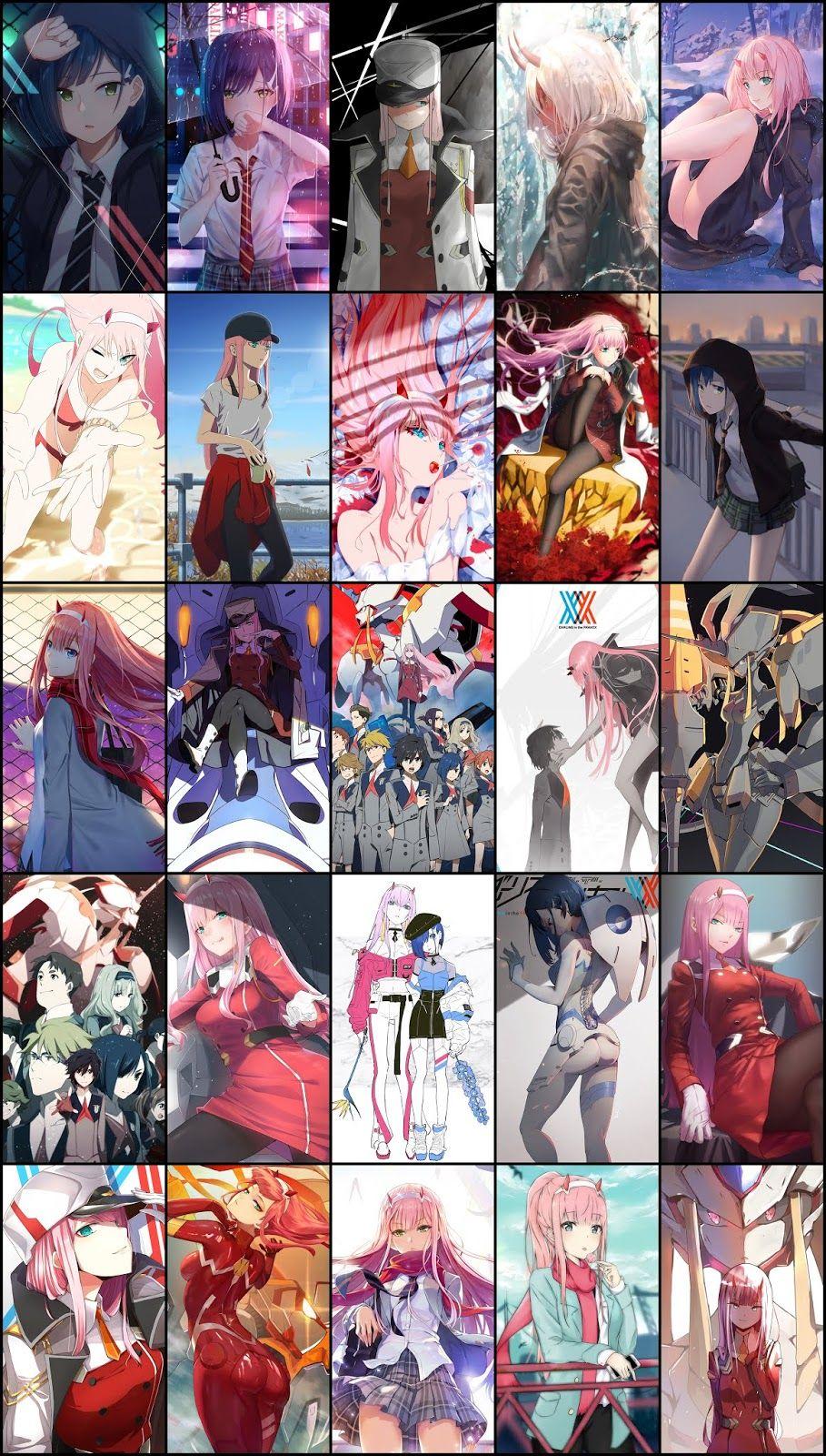 Wallpaper Pack Darling In The Franxx For Android Phone Part 01 Darling In The Franxx Anime Background Anime