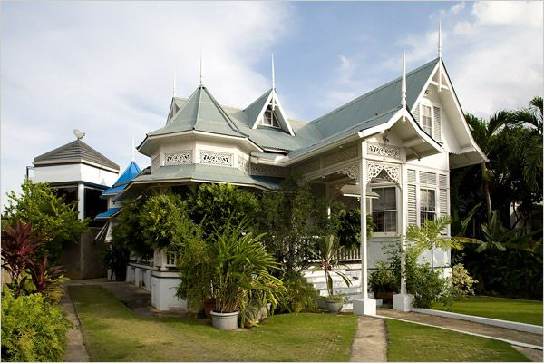 Trinidad Home Restored Caribbean Homes Trinidad Architecture