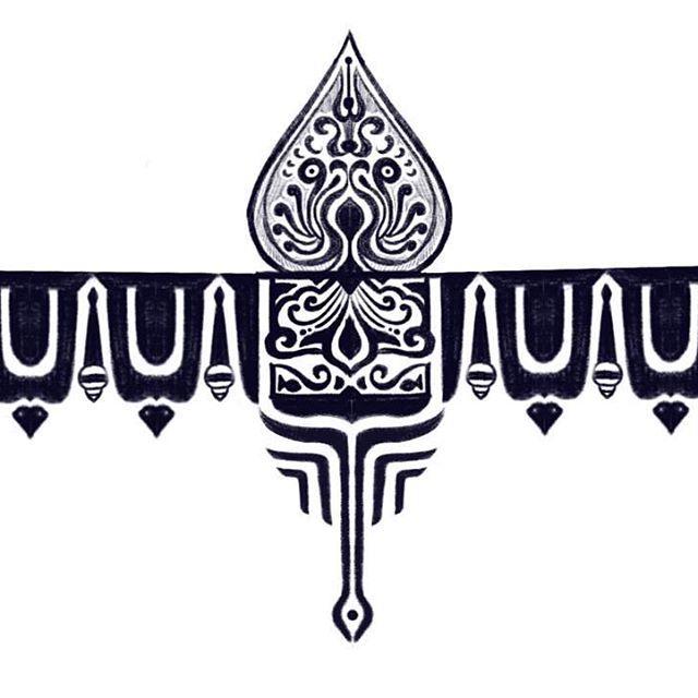 Armband Tattoo Design Inspired From Hindu Temple Art Hampi