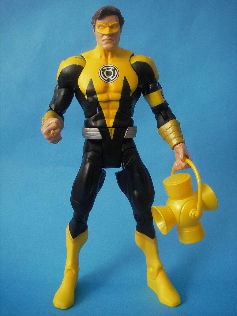 Yellow Lantern Hal Jordan By Cust0m On Deviantart Custom