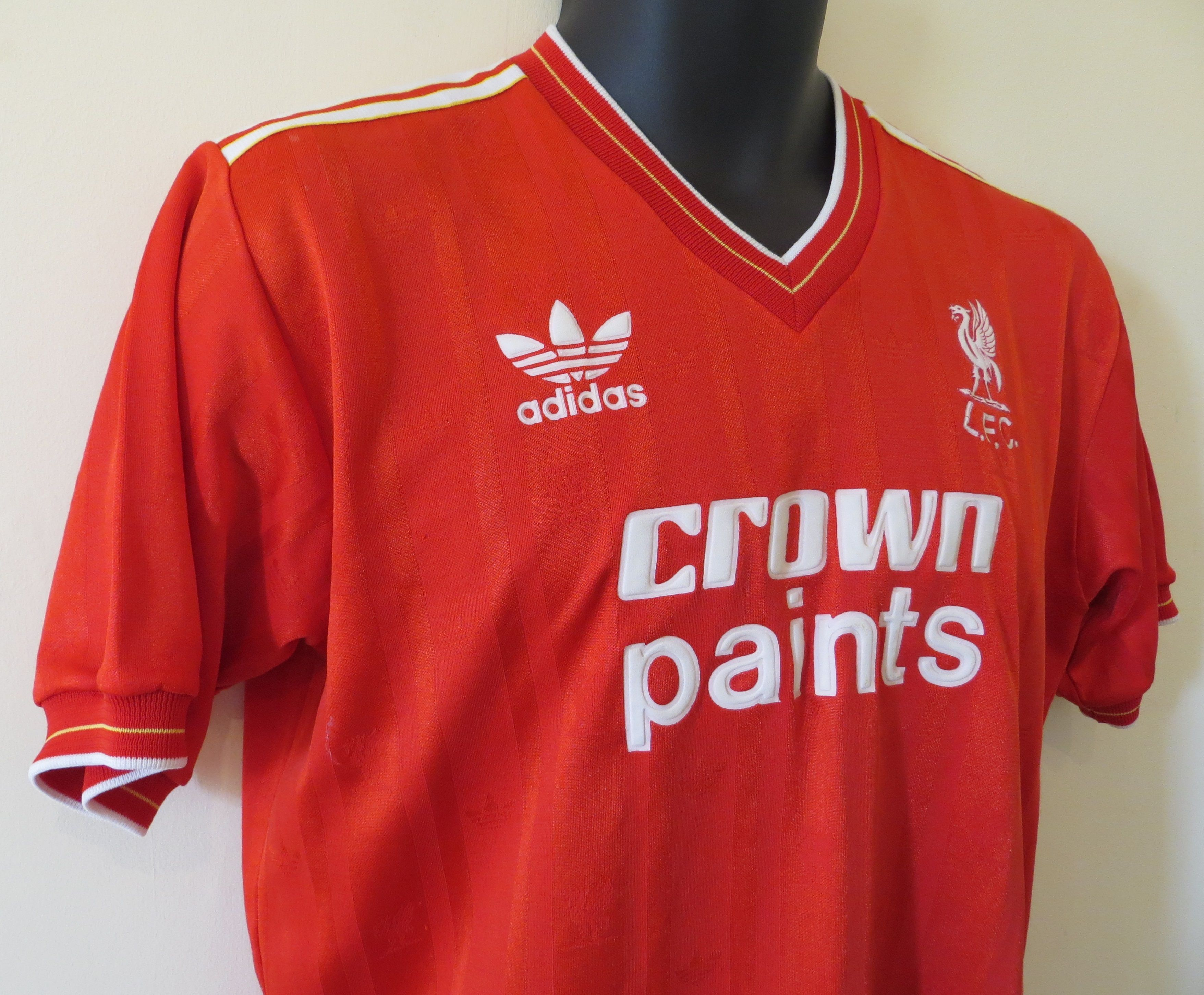 the best attitude aa2bf 86bab Liverpool Fc 1986 Retro Shirt - DREAMWORKS