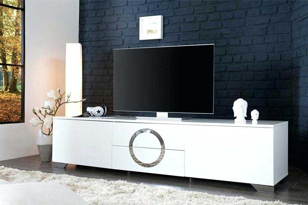 Unique Meuble Tv Suspendu Blanc Laque Meuble Tele Suspendu Blanc