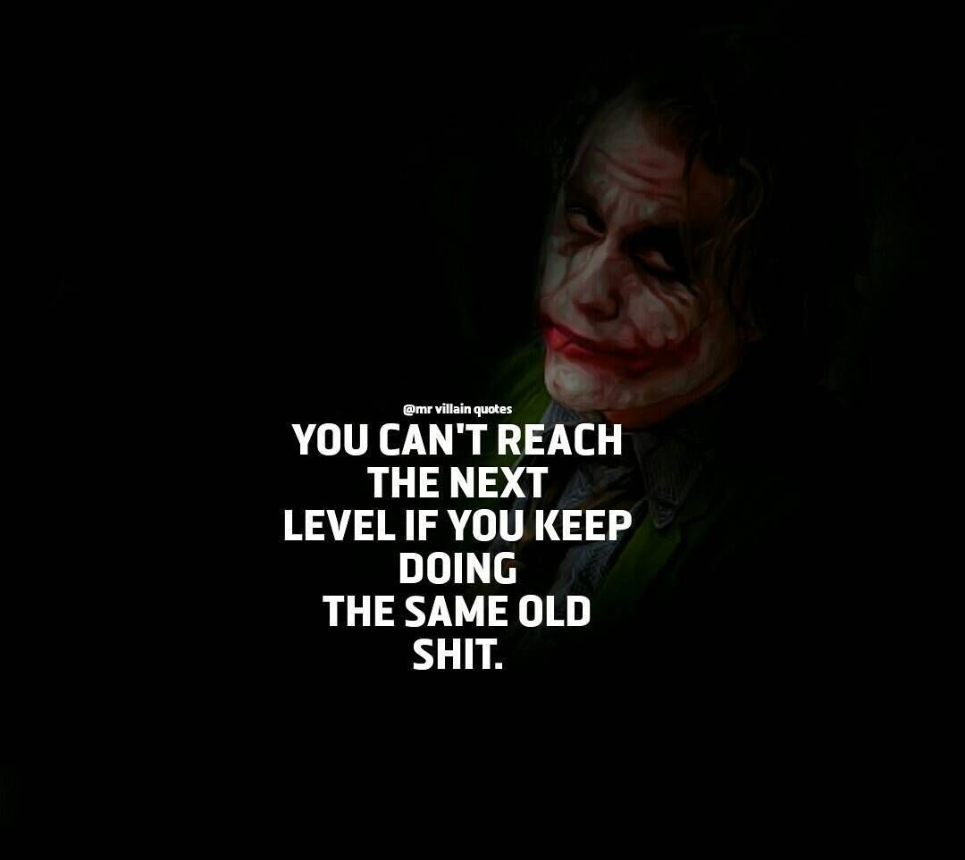 The Joker On Instagram For More Motivational And