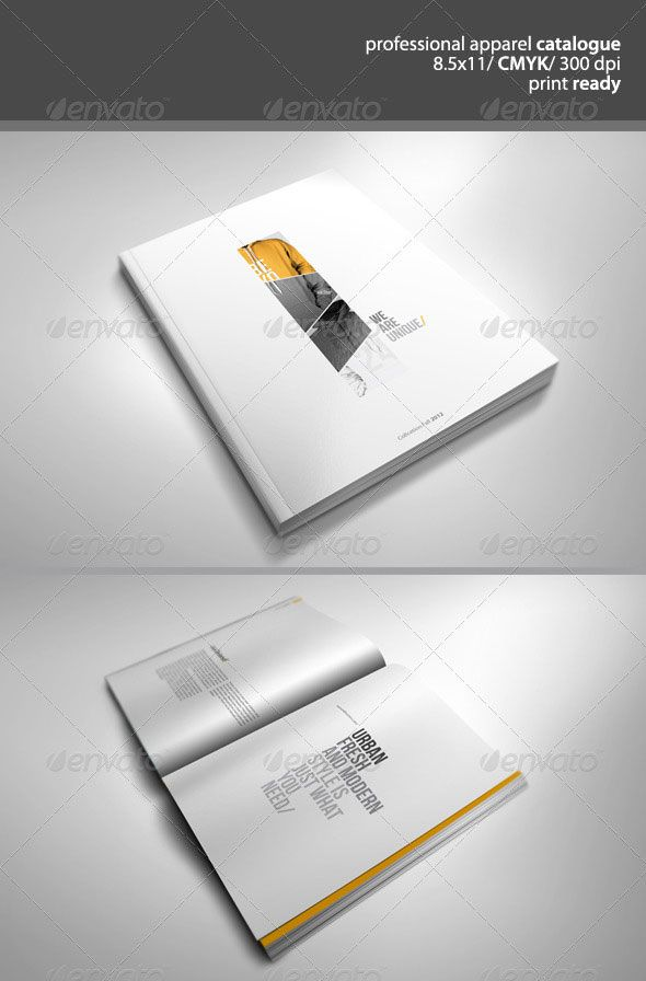 catalog template free