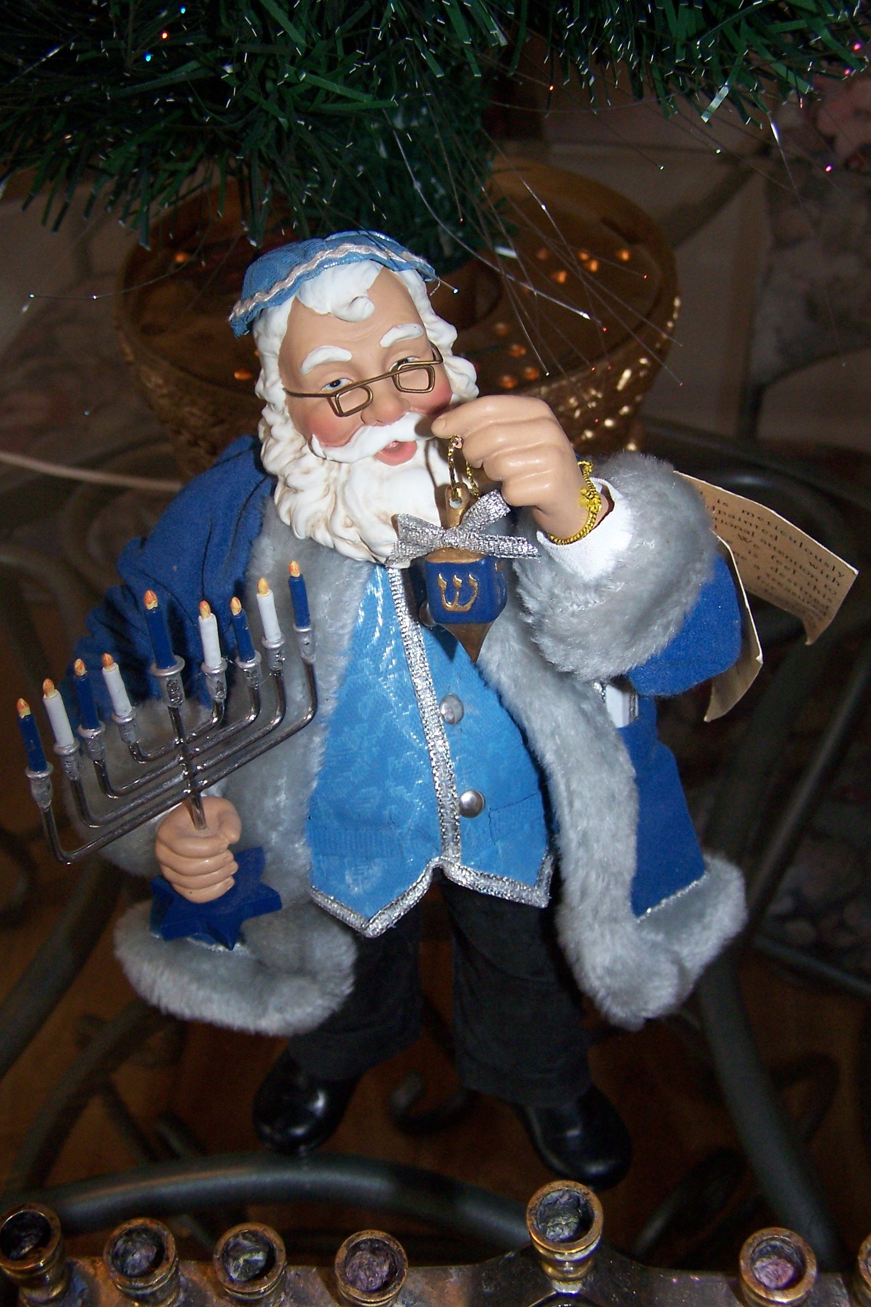 Jewish Santa - For those families who celebrate both Christmas and ...