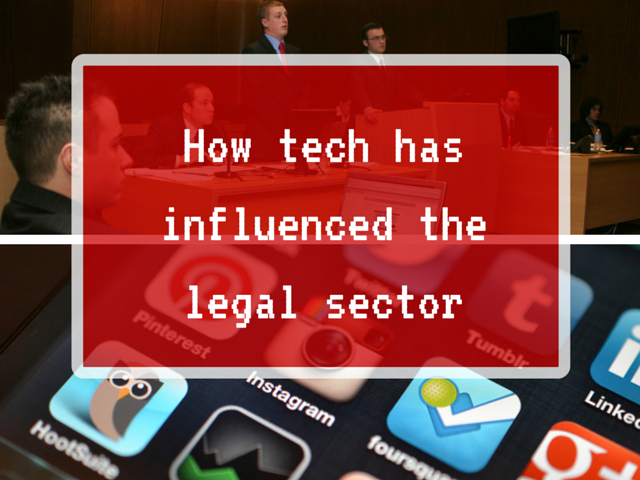 Technology advances in the law industry