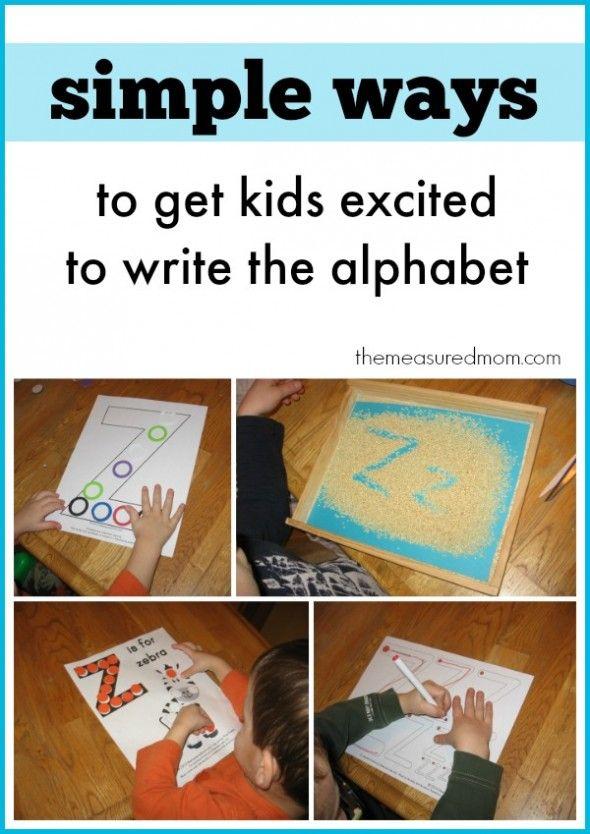 fun ways to teach the alphabet
