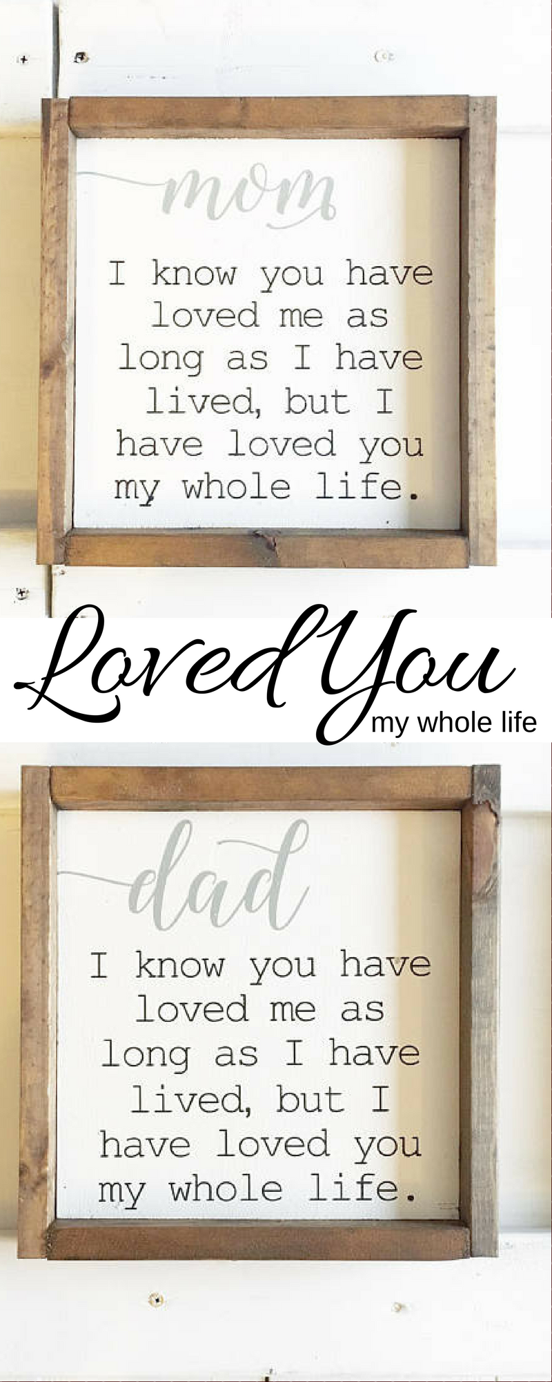 So cute great for mother of the groom or bride walls decor