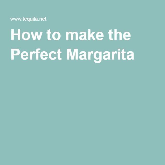 Perfect Margarita, Easy