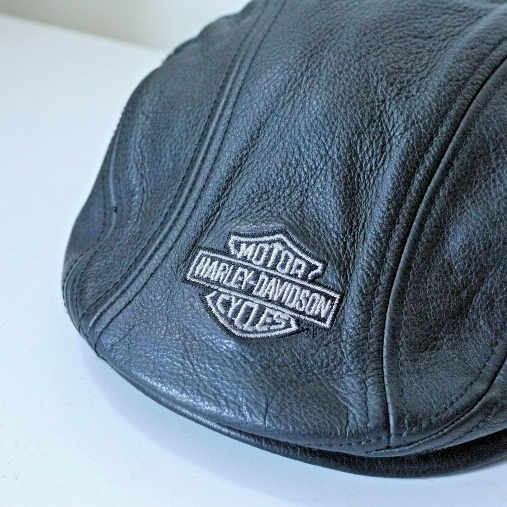 Harley davidson leather cap s small fashion clothing