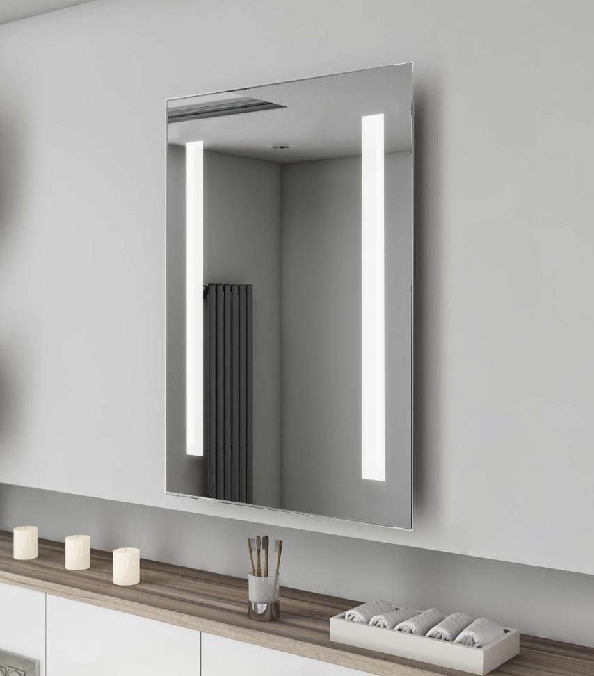 High Quality Hotel Led Backlit Bath Mirror Mirror Wall Bathroom