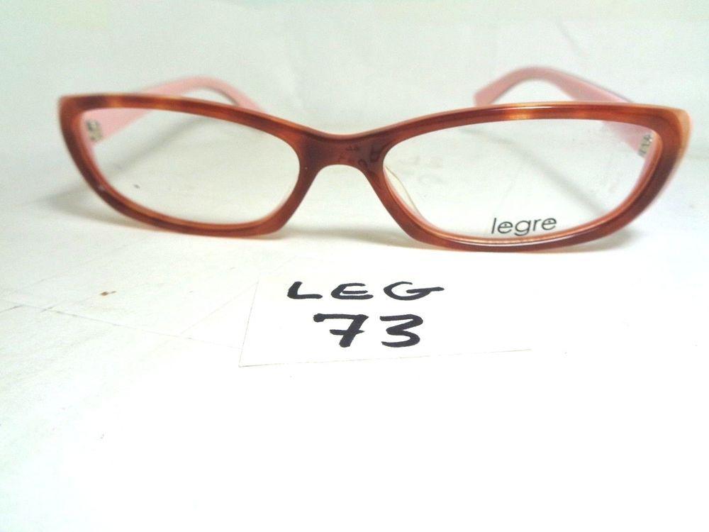 541b3d3674 New LEGRE Eyeglasses Frame LE036 col. 313 Brown Pink Women s (LEG-73 ...