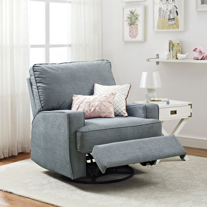 Glenda Reclining Glider Living Room Recliner Swivel Recliner Chairs Living Room Chairs #swivel #reclining #chairs #for #living #room